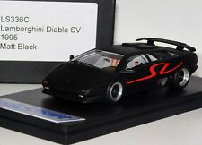 LAMBORGHINI DIABLO SV 1995 MATT BLACK LOOKSMART LS336C 1/43