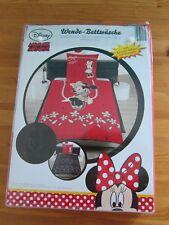Neu OVP Minnie Mouse Maus Disney leuchtet im Dunkeln Kinder Bettwäsche bed linen