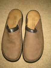 Josef Seibel Max Brown Nubuck Leather Men's Slip On Mule Shoes Size UK 11 EU 46