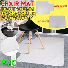 More details for large plastic non slip floor mat carpet hard wood computer floor protector uk