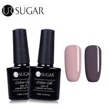 2 Bottles/set Nail Art UV/LED Gel Polish Soak Off Gel Varnish 651+635 UR Sugar