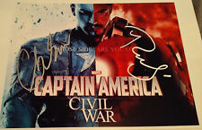 Captain America Civil War Split Shot - Avengers - Robert & Chris