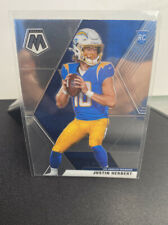 2020 Mosaic JUSTIN HERBERT Rookie Card Base #204 RC Los Angeles Chargers🔥