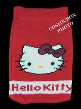 HELLO KITTY housse de téléphone portable ipod rouge chaussette protection mp4