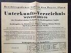 1953 Berchtesgaden (Eagles Nest) German Travel Brochure