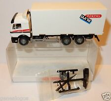 MICRO WIKING HO 1/87 CAMION TRUCK MB MERCEDES BLANC WECHSELKOFFER IAA 94 LKW BOX