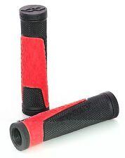 GHOST Bikes Grip XC  Mountainbike Griffe ohne Verschraubung schwarz rot