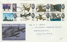 1965 GB Battle Britain PHOSPH STAMPS First Day Cover LONDON Phil BUR PMK RE:A434