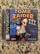 Tomb Raider III: Adventures of Lara Croft (Sony PlayStation 1, 1998) - PS1