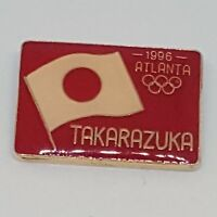 Atlanta 1996 Olympics Japanese Flag Takarazuka Hyogo Prefecture