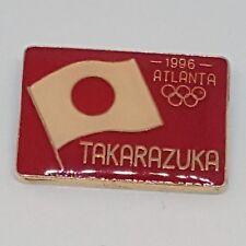 Atlanta 1996 Olympics Japanese Flag Takarazuka