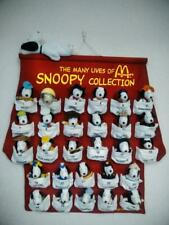 PEANUTS SNOOPY x McDONALD 28 Complete Plush Doll Set Vintage Antique Novelty