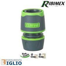 """Ribimex Raccordo rapido Tubo 1/2"""" 5/8"""" Pompa acqua giardino gomma irrigazione"""