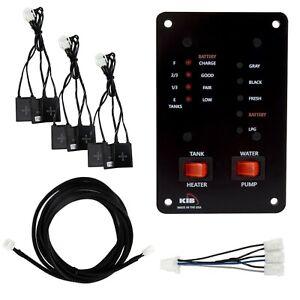 RV Water Tank Monitor Maintenance System Kit with Probeless Adhesive Sensors