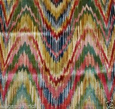 Clarence House Exclusive Talcy Flame Stitch Velvet Fabric 3 Yards Document