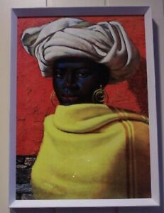 Reproduction Tretchikoff Print , with COA