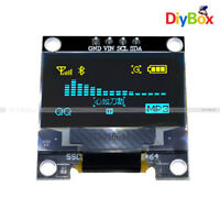 "Yellow Blue 0.96"" I2C IIC Serial 128X64 OLED LCD LED Display for STM32 Arduino"