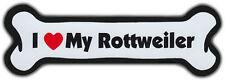 Dog Bone Magnet I Love My Rottweiler Cars Refrigerators Puppy Buy2Get1Free
