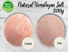 Himalayan Pink Crystal Salt Rock Chip | Pure Natural-Health-Bath 500g Bag