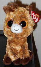 """Ty Beanie Boos ~ HARRIET the 6"""" Horse ~ Stuffed Plush Toy (NEW) 2017 ~ IN HAND"""