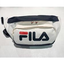 New FILA LINEAR LOGO WAIST BAG CREAM WHITE FS3BCB5311X CRM FILA BAG TAKSE