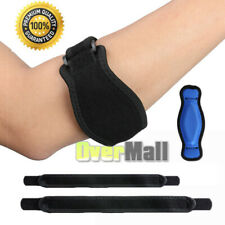 2Tennis Elbow Brace Strap+1Gel Pad Tendonitis Golfers Tennis Relief Support Band