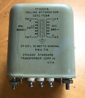 Vintage Collins Radio 677-0452-00 Audio Transformer 1956 New