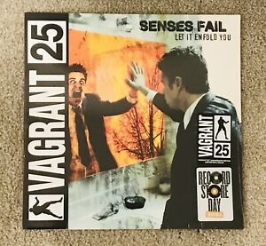 Senses Fail - Let It Enfold You Orange Marbled Opaque Vinyl LP Sealed RSD