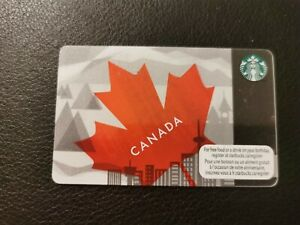 Starbucks Gift Card, CANADA, reloadable