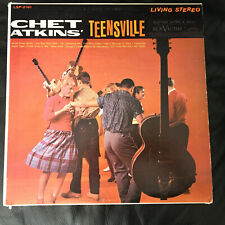 Chet Atkins TEENSVILLE RCA Victor Living Stereo 1960 IMPORT Lp Vinyl Record