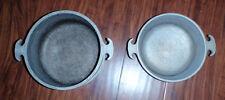 2 & 3 Quart Vintage Guardian Service Hammered Aluminum Cookware Sauce Pots