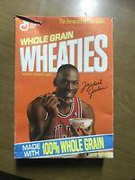 1990's Empty Wheaties Cereal Box Michael Jordan Chicago Bulls The Last Dance