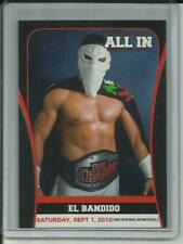 2018 El Bandido All In 9/1/2018 ROH AEW Wrestling Rookie RC Card #16 - Mint