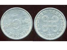 FINLANDE 5 pennia  1985