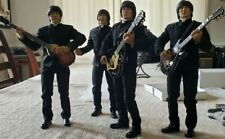 The Beatles 1:6 Custom Action Figures With Instruments Ooak Rare