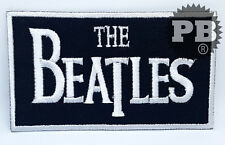 #194 The Beatles Rockabilia Gruppo musicale Ferro/ Da cucire Patch Ricamato nero