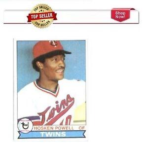 1979 Topps # 656 Hosken Powell Minnesota Twins Baseball Card