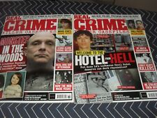 REAL CRIME ISSUE 075 AND 076   NEW FREE POST UK