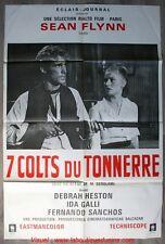7 COLTS DU TONNERRE Affiche Cinéma Movie Poster 120x80 Sean Flynn