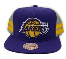 Los Angeles Lakers Mitchell & Ness Classic 69 2 Tone Adjustable Snapback Cap Hat