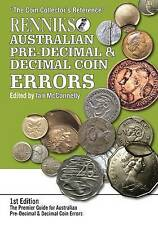 Renniks Australian Pre-Decimal & Decimal Coin Errors by Ian McConnelly (Paperback, 2015)