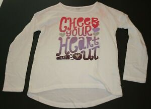 New Gymboree Girls Gymgo Short Sleeve Butterfly Glitter Tee Top 10-12 Year NWT