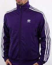 Adidas Originals Firebird Track Top in Purple - retro 3 stripe tracksuit jacket