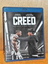 Creed (Blu-ray, 2015) NEW boxing Michael B Jordan Sylvester Stallone rocky drama