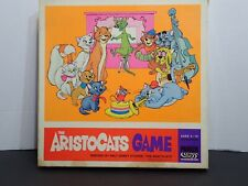 THE ARISTOCATS BOARD GAME PARKER BROTHERS VINTAGE BILINGUAL RARE