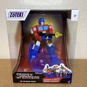 Zoteki Transformers Optimus Prime Battle On Cybertron Jazwares Action Figure NEW