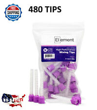 480 HP PURPLE LARGE Mixing Tips 7.5 mm Dental VPS/PVS Impression  Genuine Mixpac