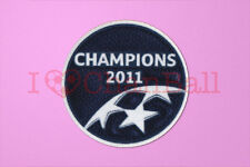 UEFA Champions League Winner 2010-2011 Barcelona Sleeve Soccer Patch / Badge