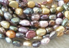 5strands multicolor freshwater pearl baroque wholesale bead discount gift hot 15