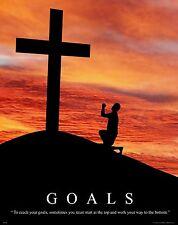 Religious Motivational Poster Print Christian Jesus Christ Church  Art  RELG06